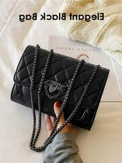 2020 Winter Fashion Women Quilted Chain Bag Shoulder Bag Cro