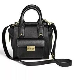 3.1 Phillip Lim for Target  Mini Satchel Handbag Black Bag 2