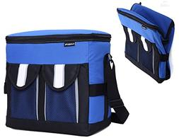 MIER 30Cans Collapsible Soft Cooler Bag Insulated Picnic Lun