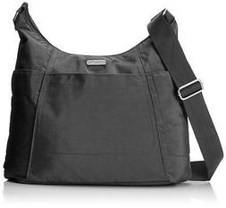 Baggallini Hobo Travel Tote, Charcoal, One Size