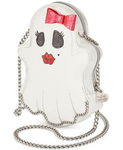 Betsey Johnson KITSCH HERE FOR THE BOOS GHOST Crossbody bag