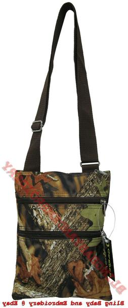 Camo Camouflage Messenger Bag Hipster Crossbody Purse Tote M