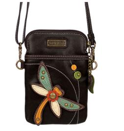 Chala Dragonfly Cell Phone Crossbody Bag Small Convertible P