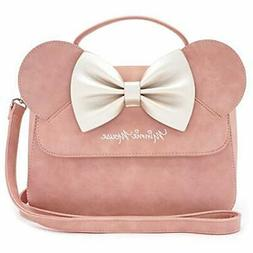 Loungefly x Disney Minnie Mouse Crossbody Bag with Ears and