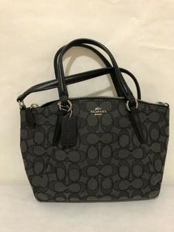 New COACH F57830 Mini Kelsey Satchel In Outline Signature Cr
