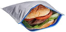 Pack of 2 Insulated Sandwich Bags, Will Keep Sandwiches From