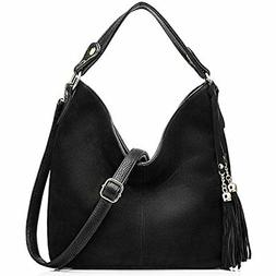 Realer New Design Women Tote Leather Purse Crossbody Bag