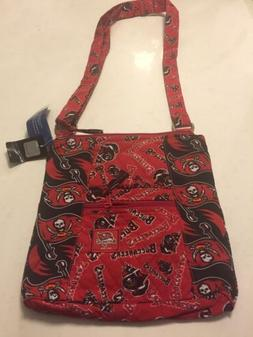 Tampa Bay Buccaneers NFL VB Hipster fabric crossbody bag/pur