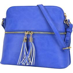 Dasein All-In-One Crossbody 6 Colors Cross-Body Bag NEW