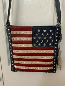 Montana West AMERICAN PRIDE CONCEALED CARRY CROSSBODY BAG -