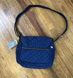 Travelon Anti-theft Crossbody Bag Blue, New With Tags