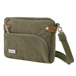 Travelon Anti-Theft Heritage Small Crossbody Bag: Sage