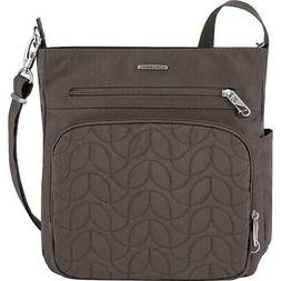 Travelon Anti-Theft Quilted North South Crossbody Cross-Body