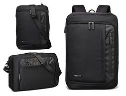 AOKING Water Resistant 15 Inch Laptop Briefcase Backpack Mes