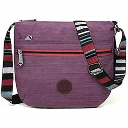 BEKILOLE Crossbody Bags Women Multi Pocket Shoulder Waterpro