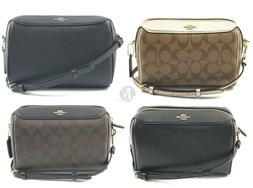 Coach F77879 F76629 F85697 Leather Signature Mini Bennett Cr