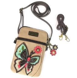 Chala Butterfly Cell Phone Crossbody Bag Small Convertible P