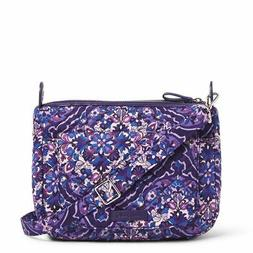 VERA BRADLEY Carson Purple Shoulder Bag Crossbody Handbag