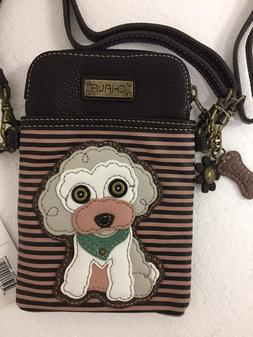 Chala Cell Phone Crossbody Bag Poodle Dog Convertible Strap