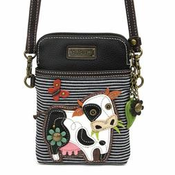 Chala Cell Phone Crossbody Bag Purse Cow Farm Convertible St