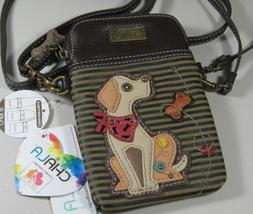 Chala Cell Phone Crossbody Bag Yellow Lab Dog Convertible St