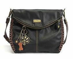 Chala Charming Crossbody Bag With Flap Top | Flap and Zipper