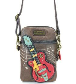 Charming Chala Grand Guitar Cell Phone Purse Mini Crossbody