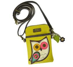 Charming Chala Hoot Hoot Owl Cell Phone Purse Mini Crossbody
