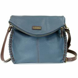 Chala Charming Navy Blue Cross-body with Flap Top Shoulder P