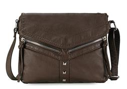 chic v design crossbody bag h178621 coffee