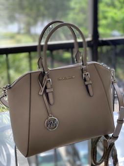 Michael Kors Ciara Large Crossbody Satchel Leather Handbag B