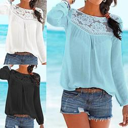 ❤️ Clearance Solid Color Long Sleeve Shirt T-Shirt Women