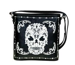 Montana West Concealed Carry Purse Country Sugar Skull Hallo