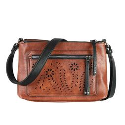 Concealed Carry Purse Hailey Crossbody by Lady Conceal, Lock