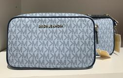 Michael Kors Connie Small Double Zip Camera Crossbody Bag in