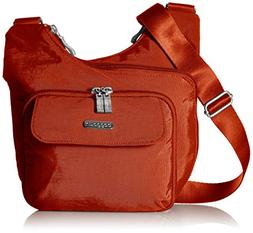 Baggallini Criss Cross Crossbody Bag – Lightweight, Water-