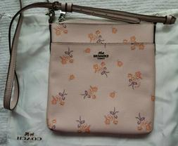 Coach crossbody swing bag floral print 29878 New $150