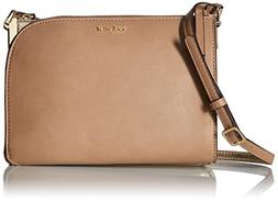 Nine West Darcelle Double Compartment Crossbody, Dark Wheat/