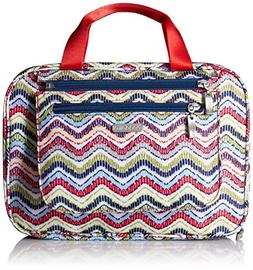 Baggallini Deluxe Travel Cosmetic, Wave Print Multi