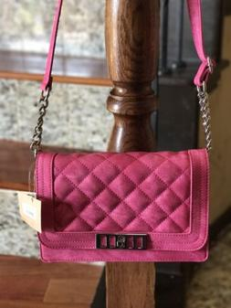 Designer Inspired Mix No 6 Chaessa Quilted Crossbody Women F