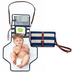 Diaper Clutch Portable Changing Station - Small Diaper Bag P