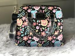 Loungefly Disney Alice in Wonderland Floral Crossbody Bag NW