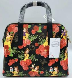 Disney Loungefly Beauty and the Beast Belle Floral Crossbody