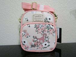 Loungefly Disney The Aristocats Floral Crossbody Bag New Wit