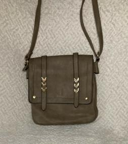 Double Compartment Large Flapover Crossbody Bag With Colorbl