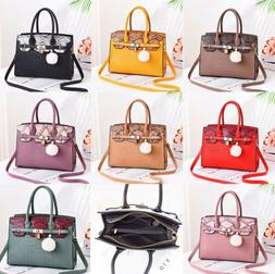 Fashion Women Lady Handbag Leather Shoulder Satchel Messenge