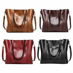 Fashion Women Leather Handbag Purse Ladies Shoulder Messenge