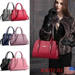 Fashion Women's Leather Handbag Shoulder Lady Crossbody Bag