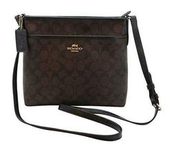 Coach FIle F29210 Crossbody Bag - Brown/Black/Imitation Gold