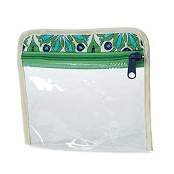 cinda b Flight Friendly Travel Pouch, Verde Bonita, One Size
